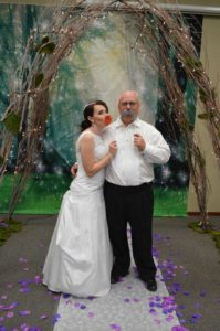 Misty-Michael wedding ceremony vows Officiant